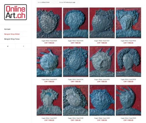 Online Kunst Shop mit Domain online-art.ch zu verkaufen