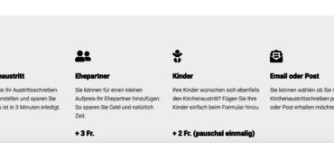 kirche-austreten.ch (Website+Domain)