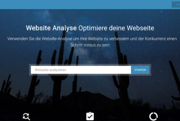 Websiteanalyse.info Website + Domain