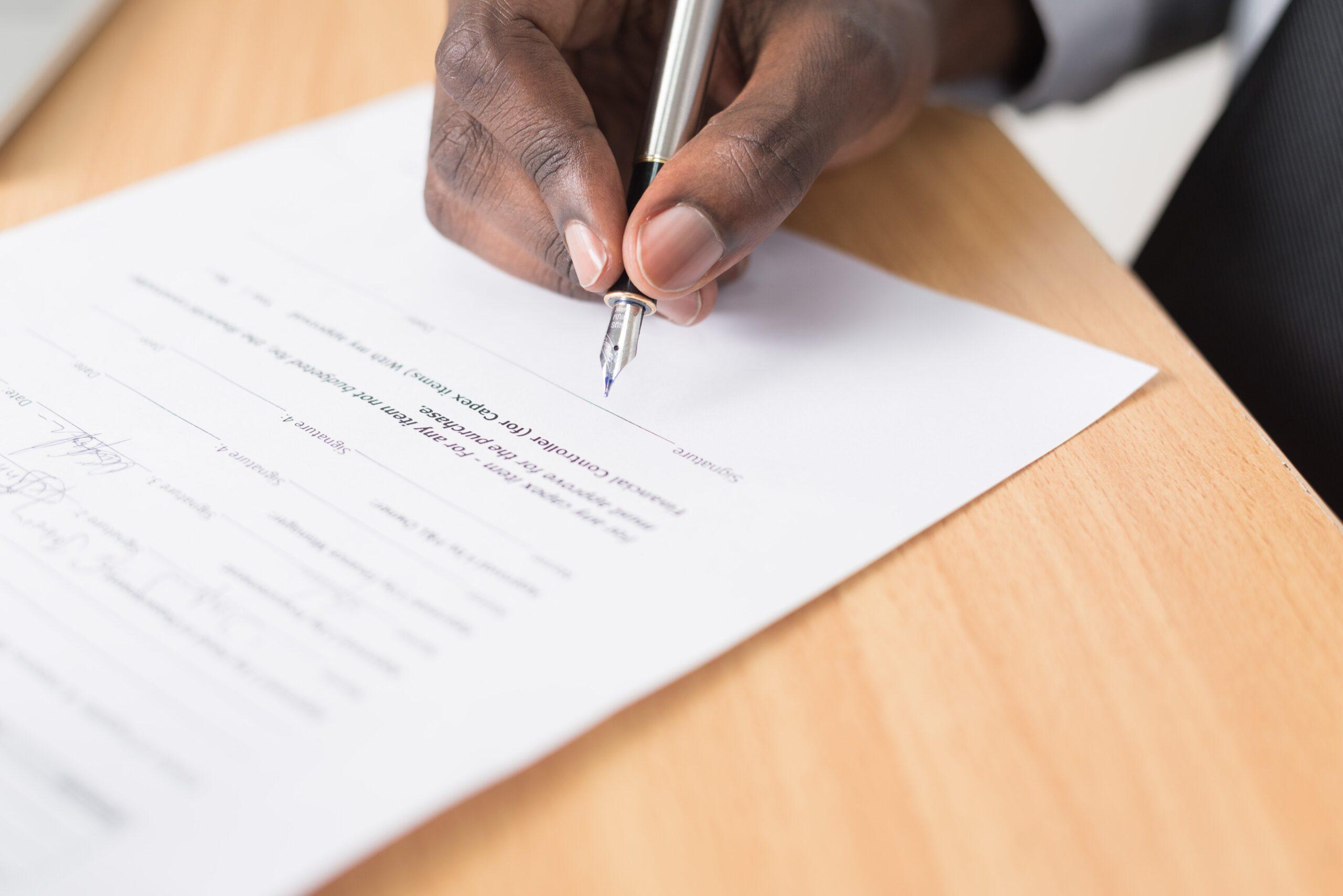 Kaufvertrag Vorlage für Ihr Webprojekt