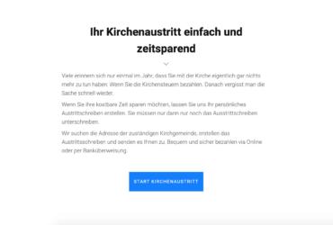 kirche-austreten.ch (Domain+Website) – Passives Einkommen