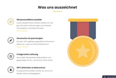 Schweizer Ghostwriting-Agentur zum Verkauf
