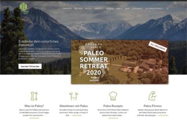 """Prinzip Paleo – Webprojekt, Digitale Produkte und """"Marke"""" im Bereich Ernährung/Gesundheit/Lifestyle"""